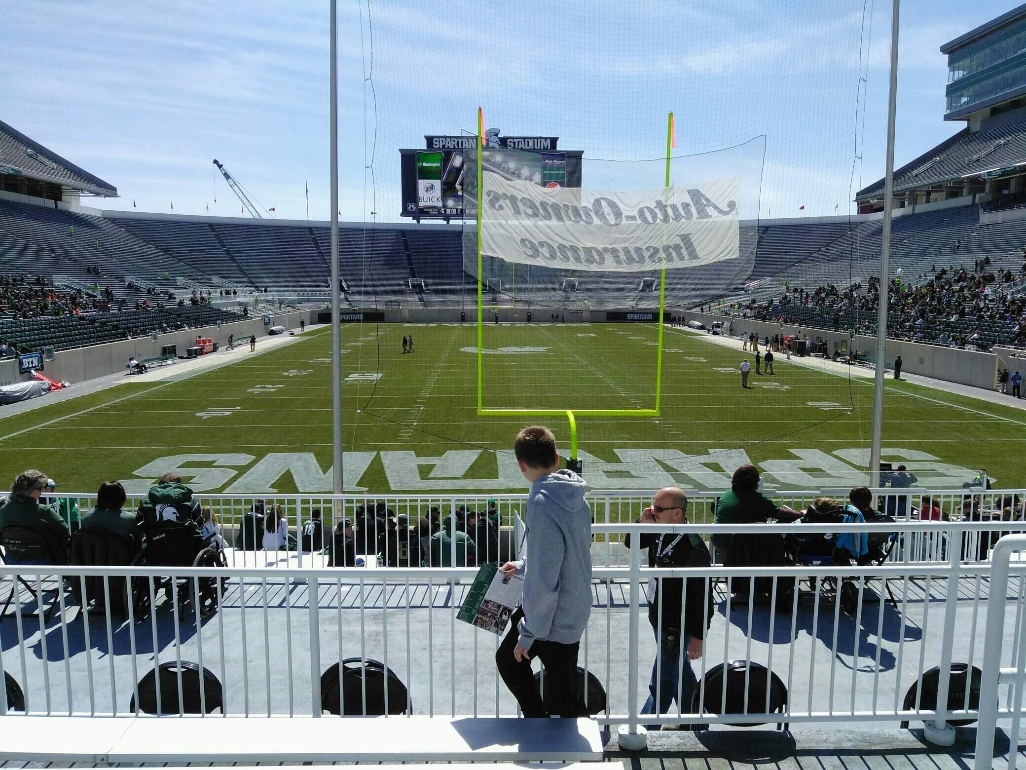 Spartan Stadium Section 1 Row 24 Seat 42