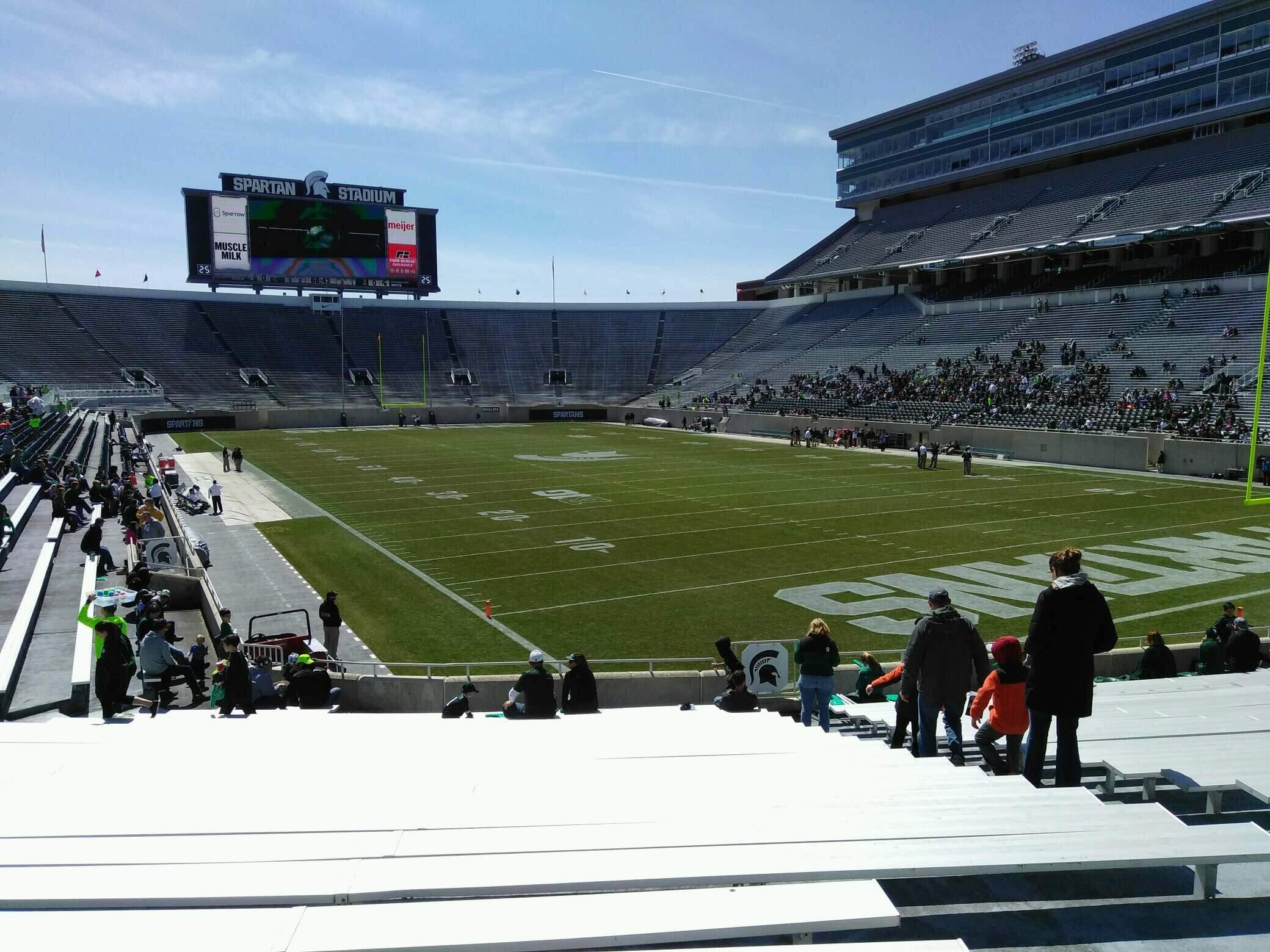Spartan Stadium Section 3 Row 24 Seat 44