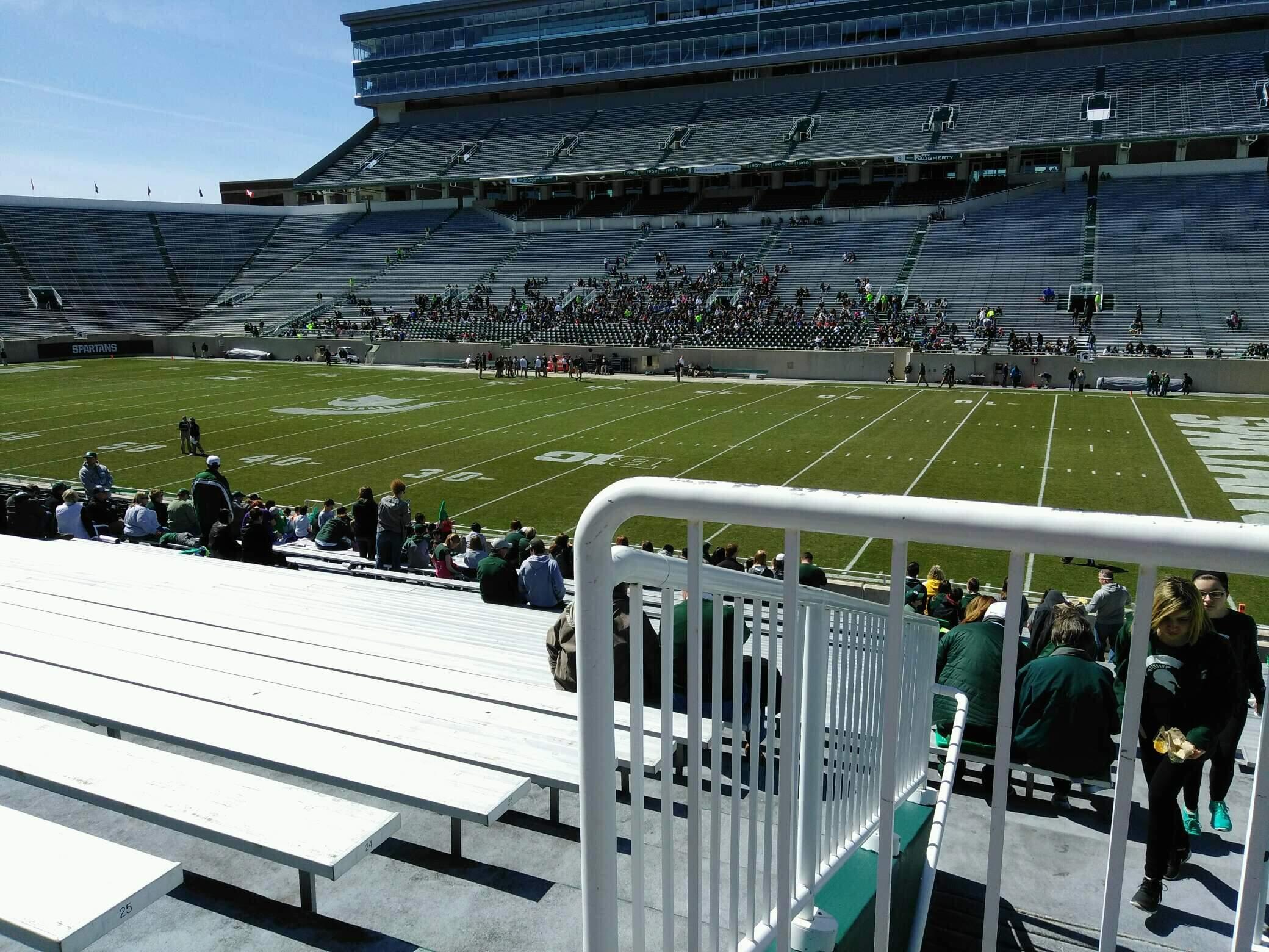 Spartan Stadium Section 6 Row 27 Seat 19