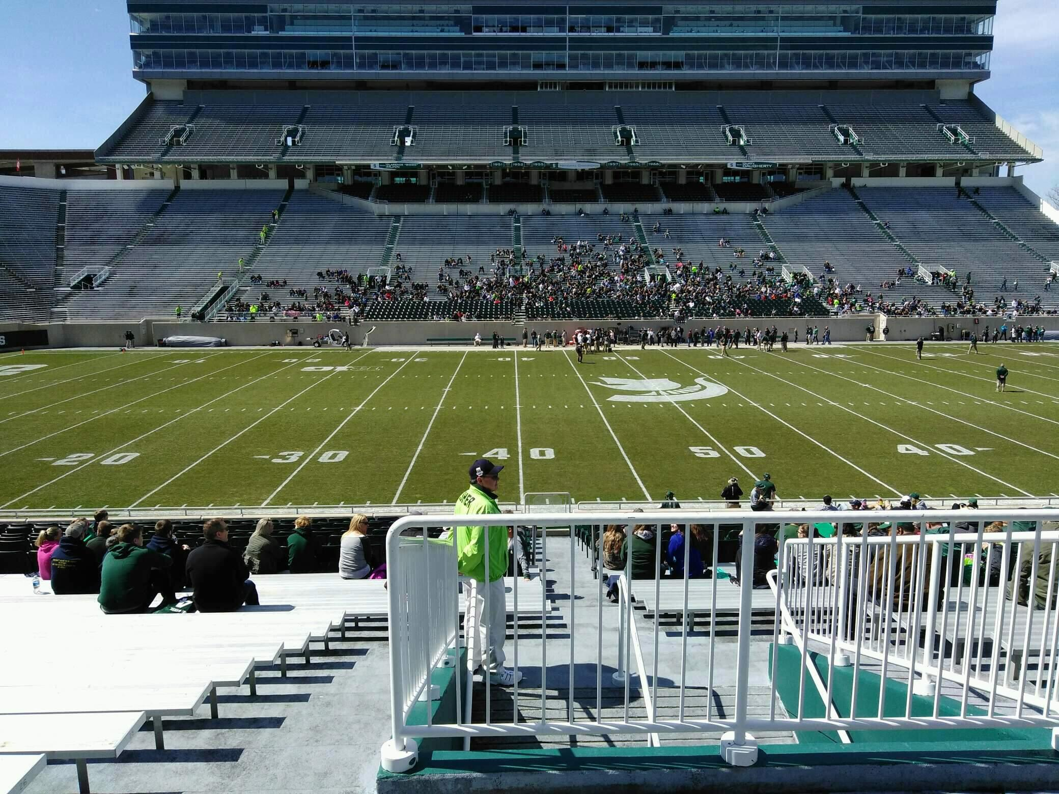 Spartan Stadium Section 9 Row 30 Seat 19