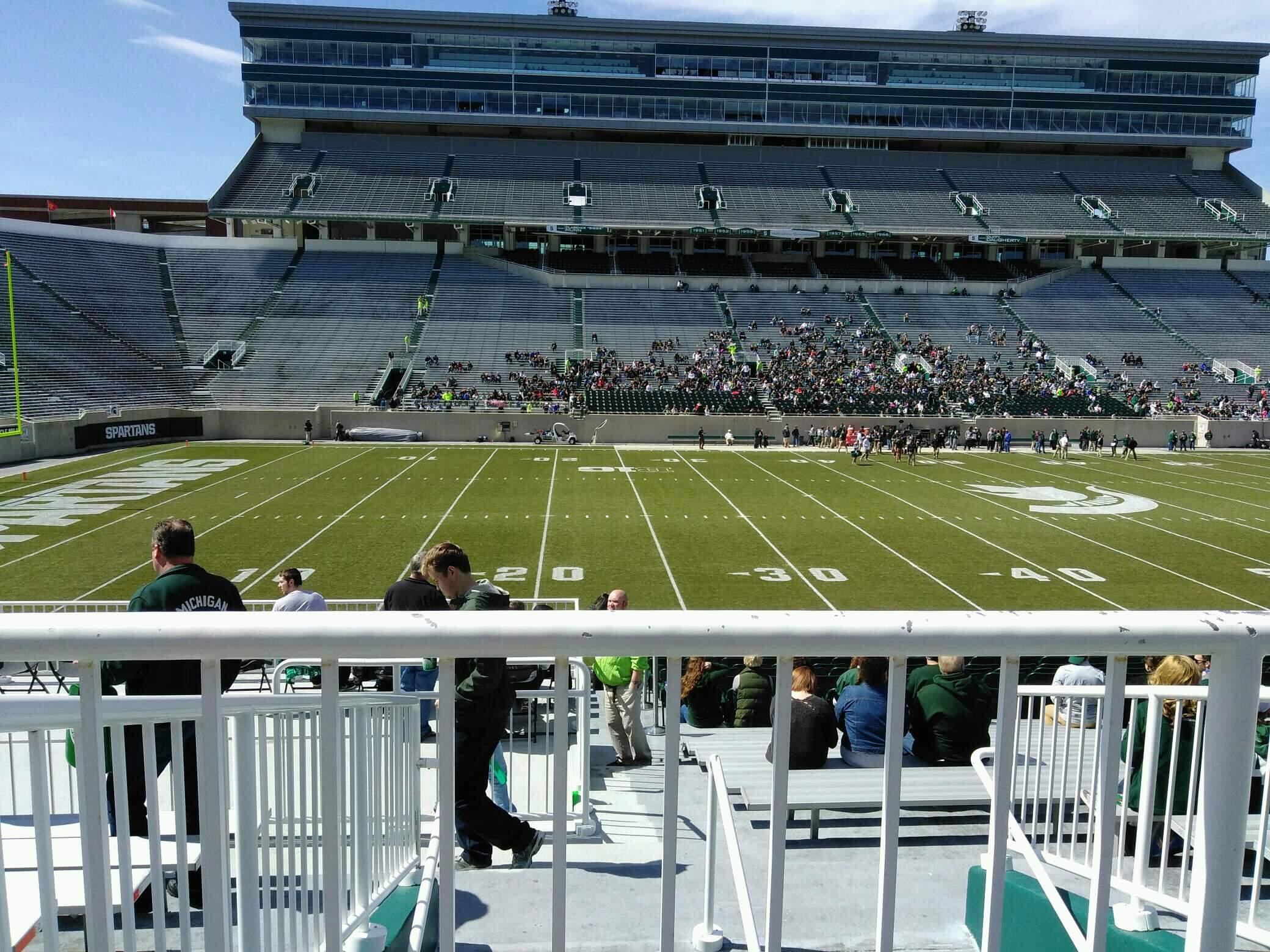 Spartan Stadium Section 10 Row 27 Seat 19