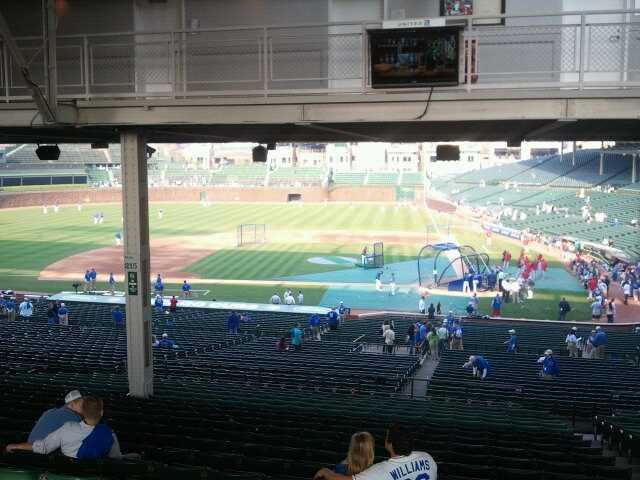 Wrigley Field Section 213 Row 21 Seat 22