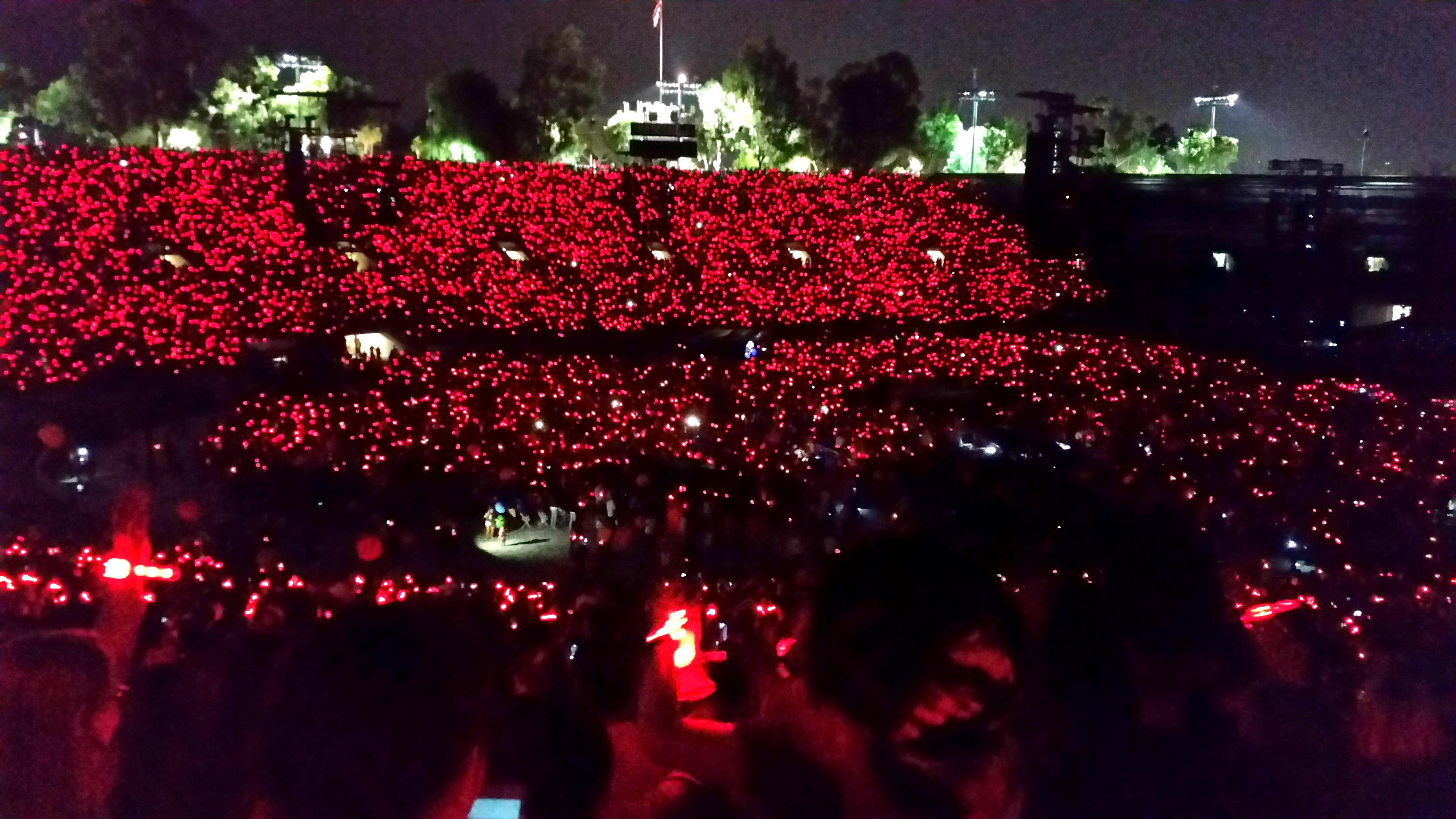 Rose Bowl Section 16-L Row 57 Seat 3