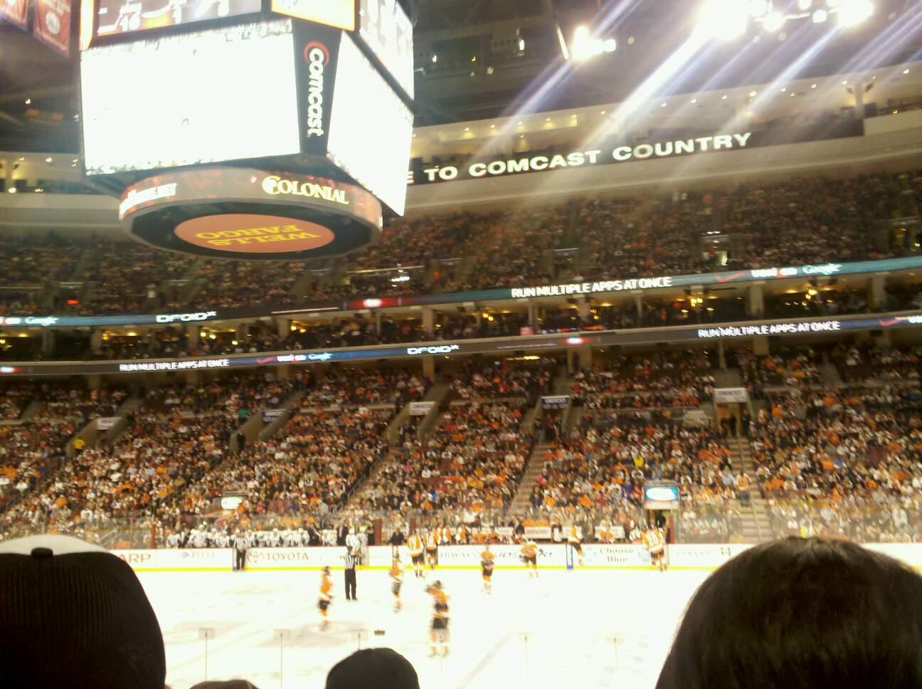 Wells Fargo Center Section 114 Row 15 Seat 17