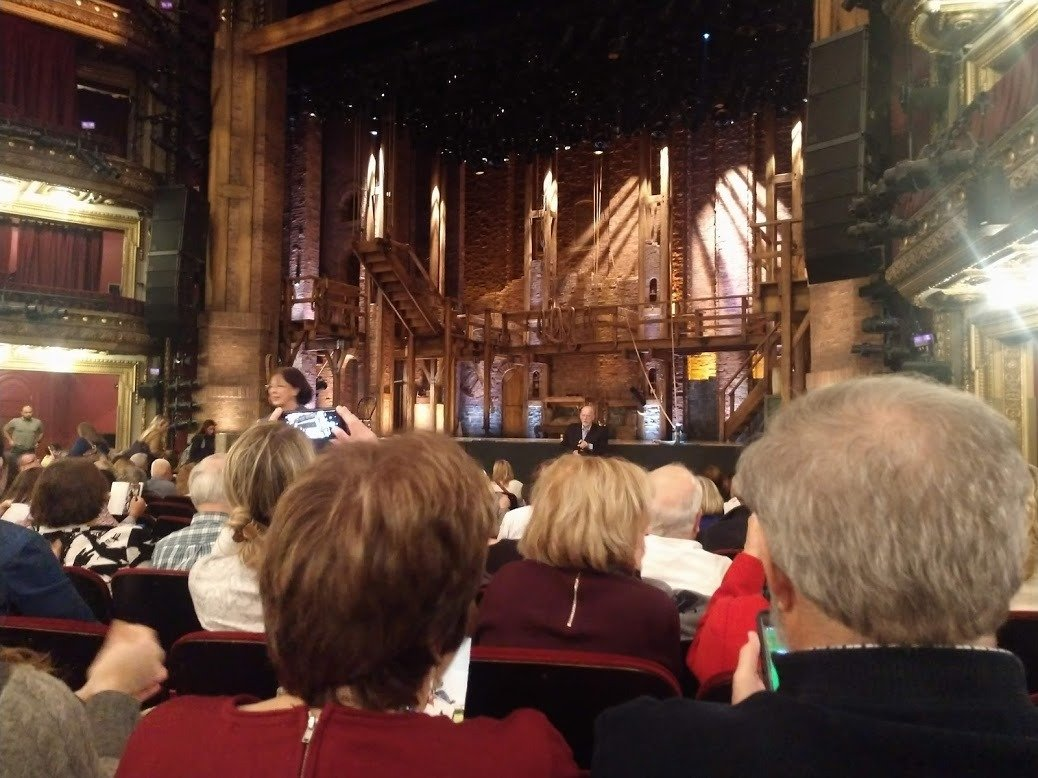 CIBC Theatre Section Orchestra R Row N Seat 12