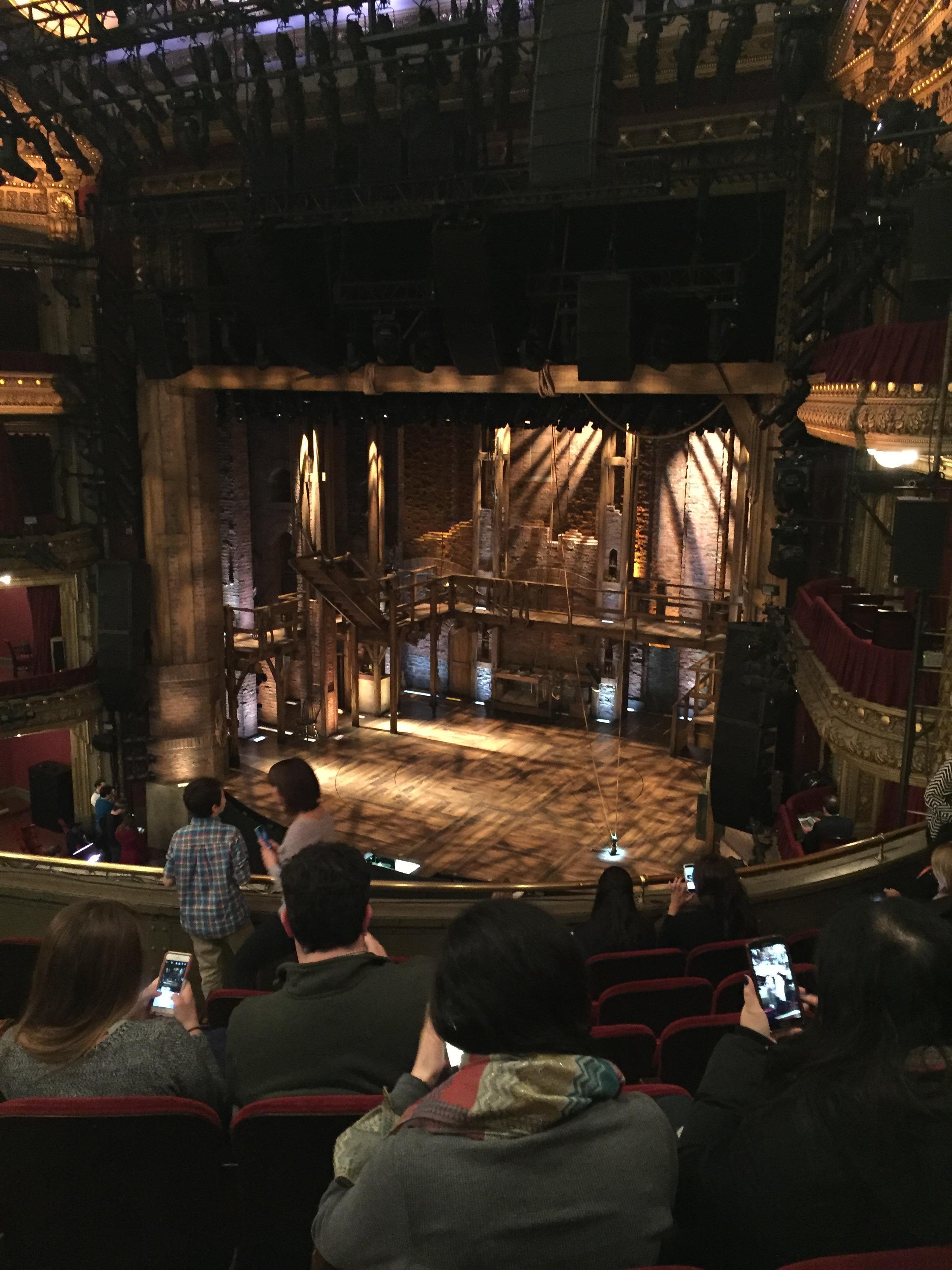 CIBC Theatre Section Mezzanine R Row G Seat 16