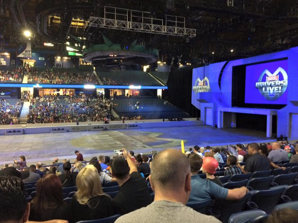 Allstate Arena Section 111 Row N Seat 24