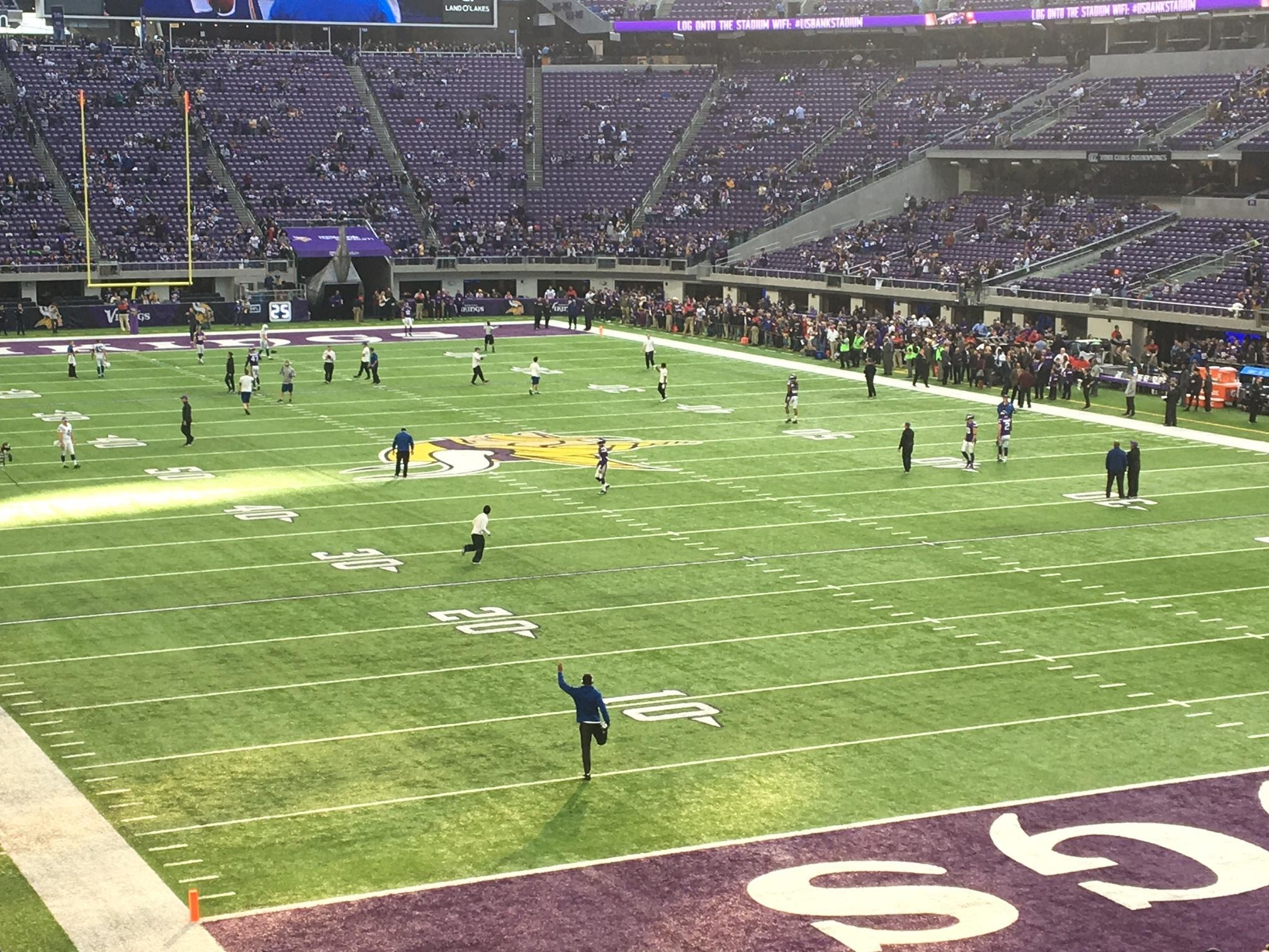 U.S. Bank Stadium Section 143 Row 22 Seat 21