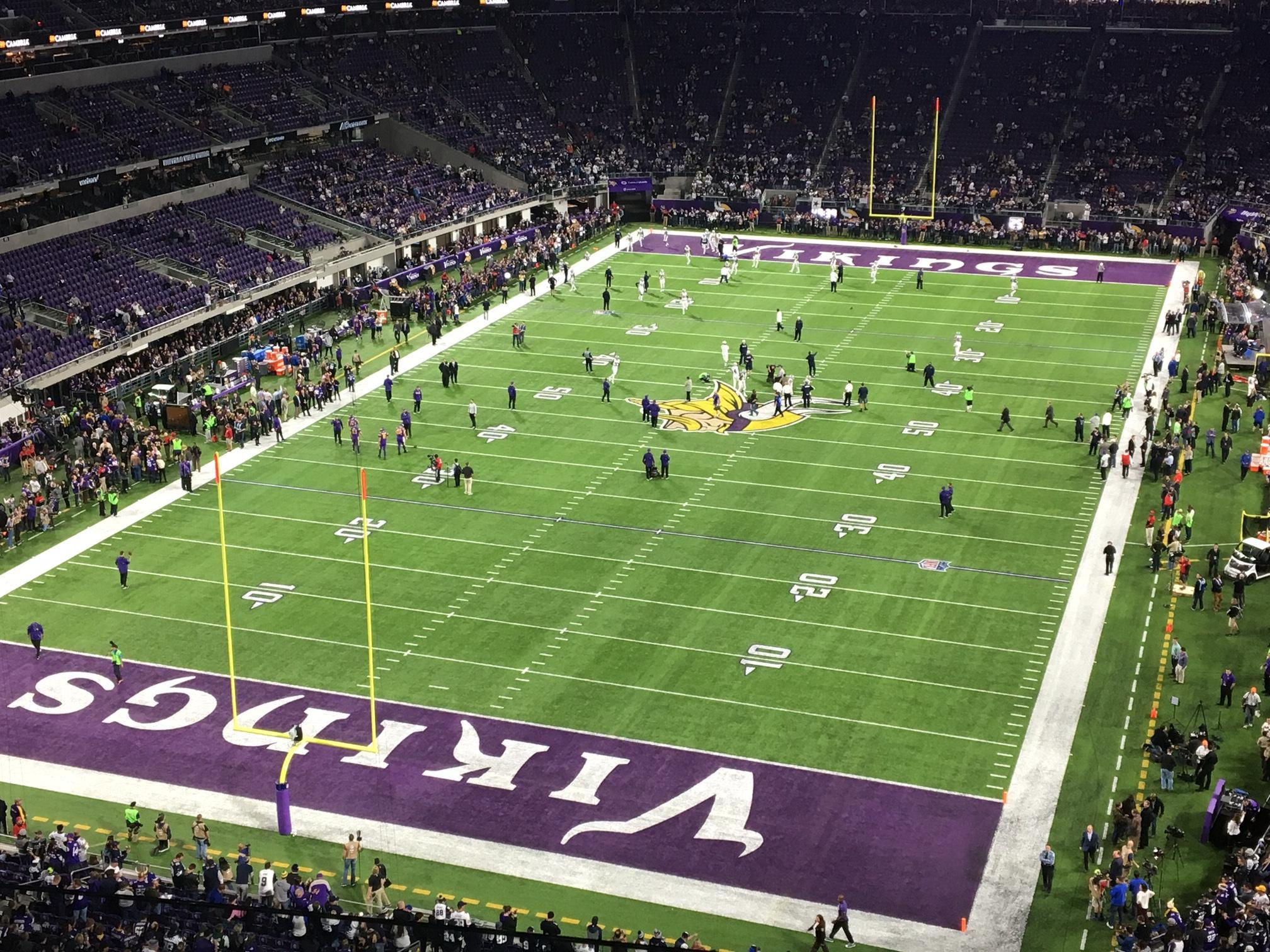 U.S. Bank Stadium Section 324 Row C Seat 3