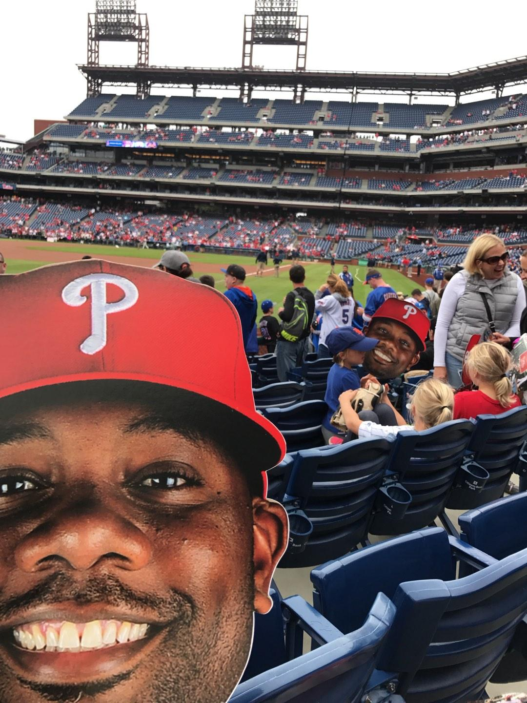 Citizens Bank Park Section 138 Row 9 Seat 6