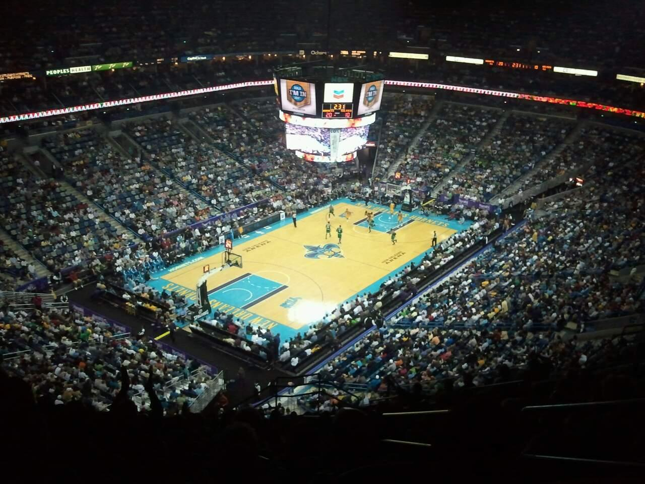 Smoothie King Center Section 305 Row 17 Seat 3