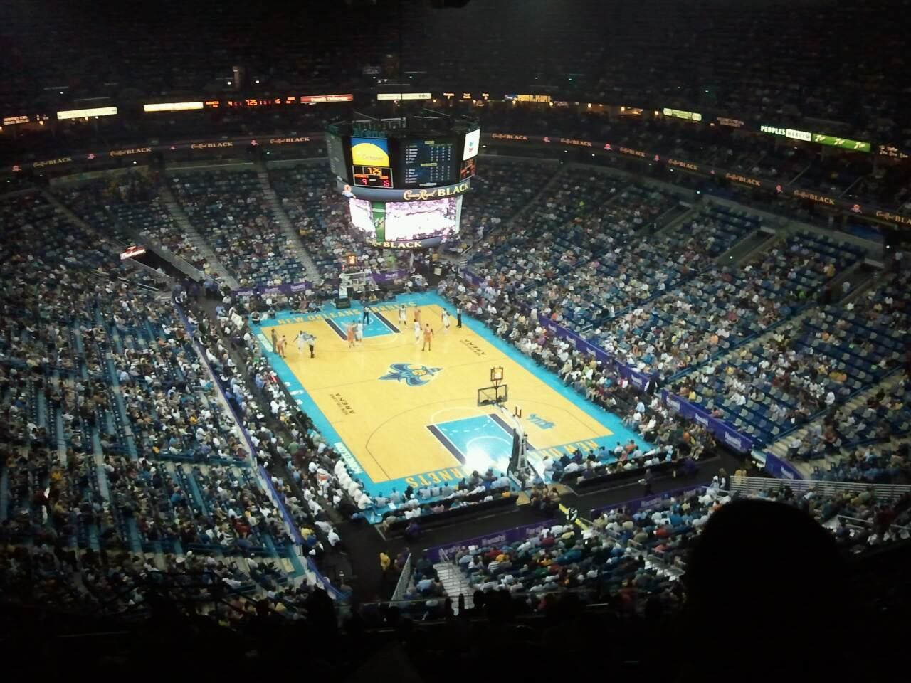Smoothie King Center Section 310 Row 17 Seat 13
