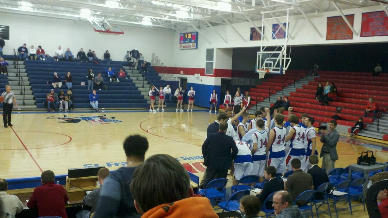St.Francis In Toledo Oh Row g Seat 10