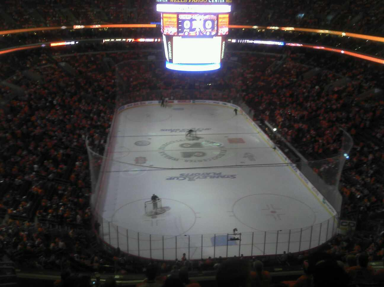 Wells Fargo Center Section 219 Row 10 Seat 6