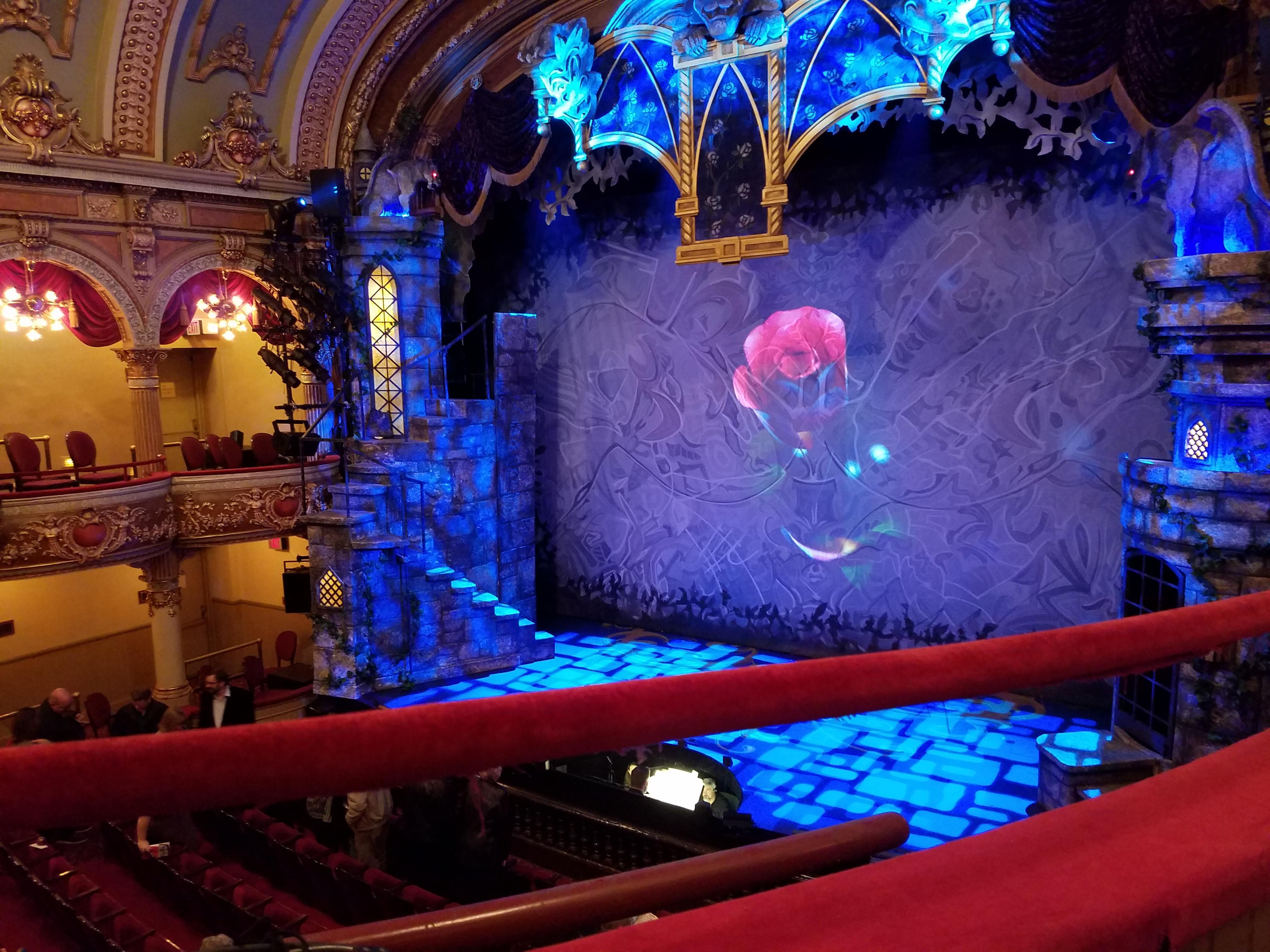 Fulton Opera House Section Mezzanine Row A Seat 22