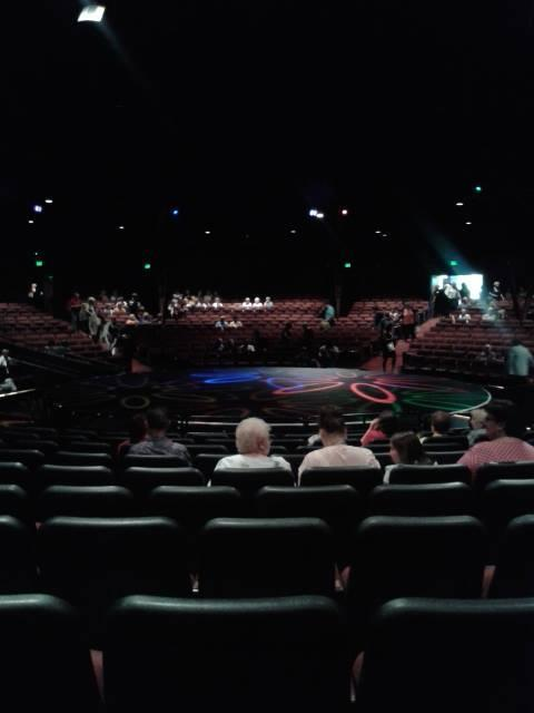 North Shore Music Theatre Section B Row L Seat 17