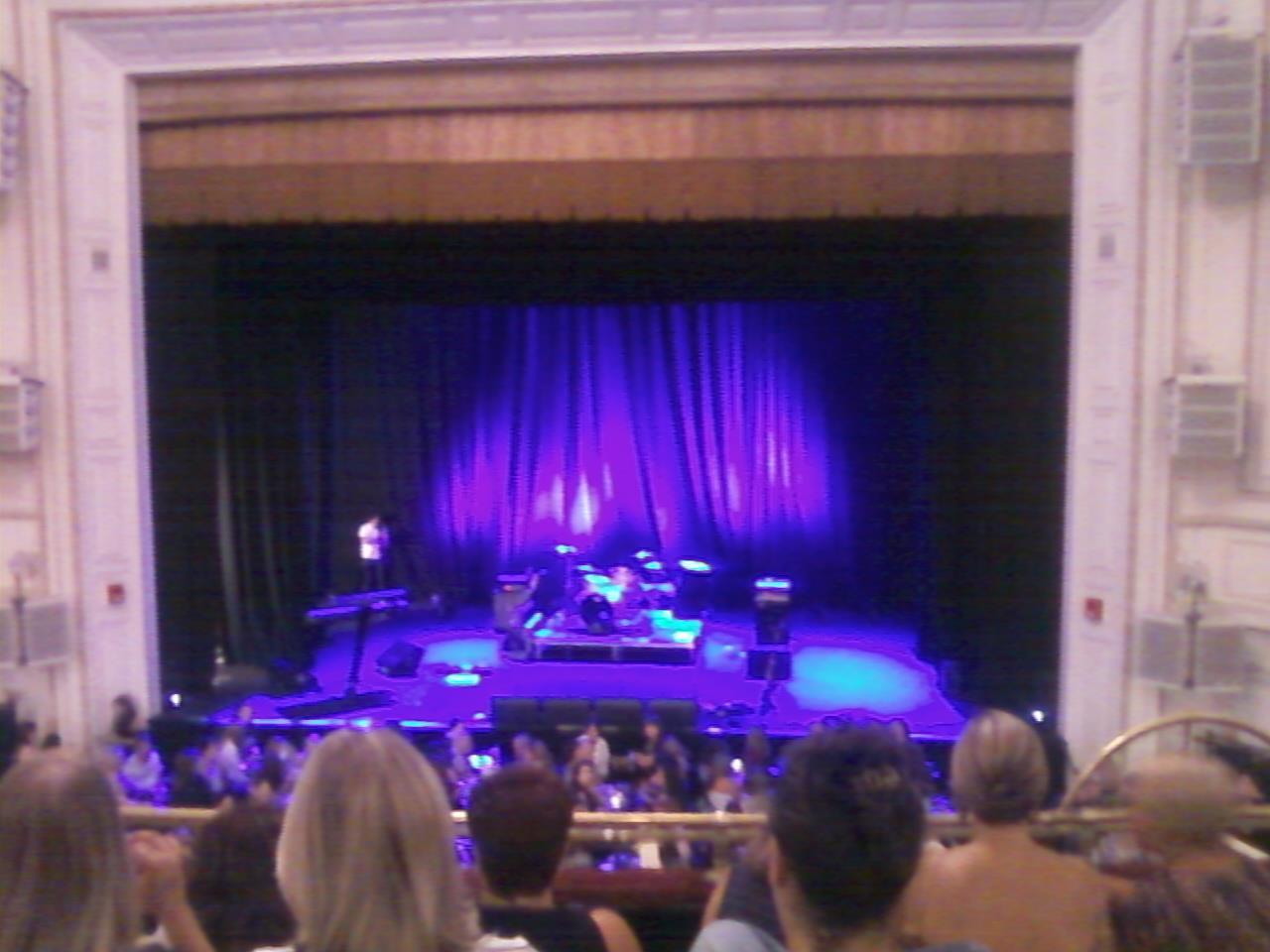Wilbur Theatre Section Mezzanine Row E Seat 103
