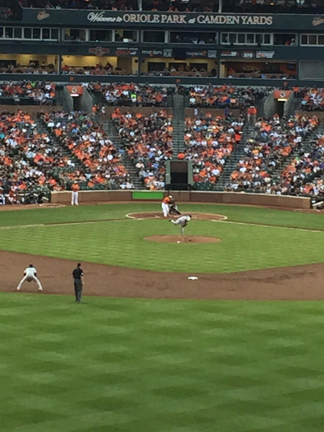 Oriole Park at Camden Yards Section Deck Row 2 Seat 19