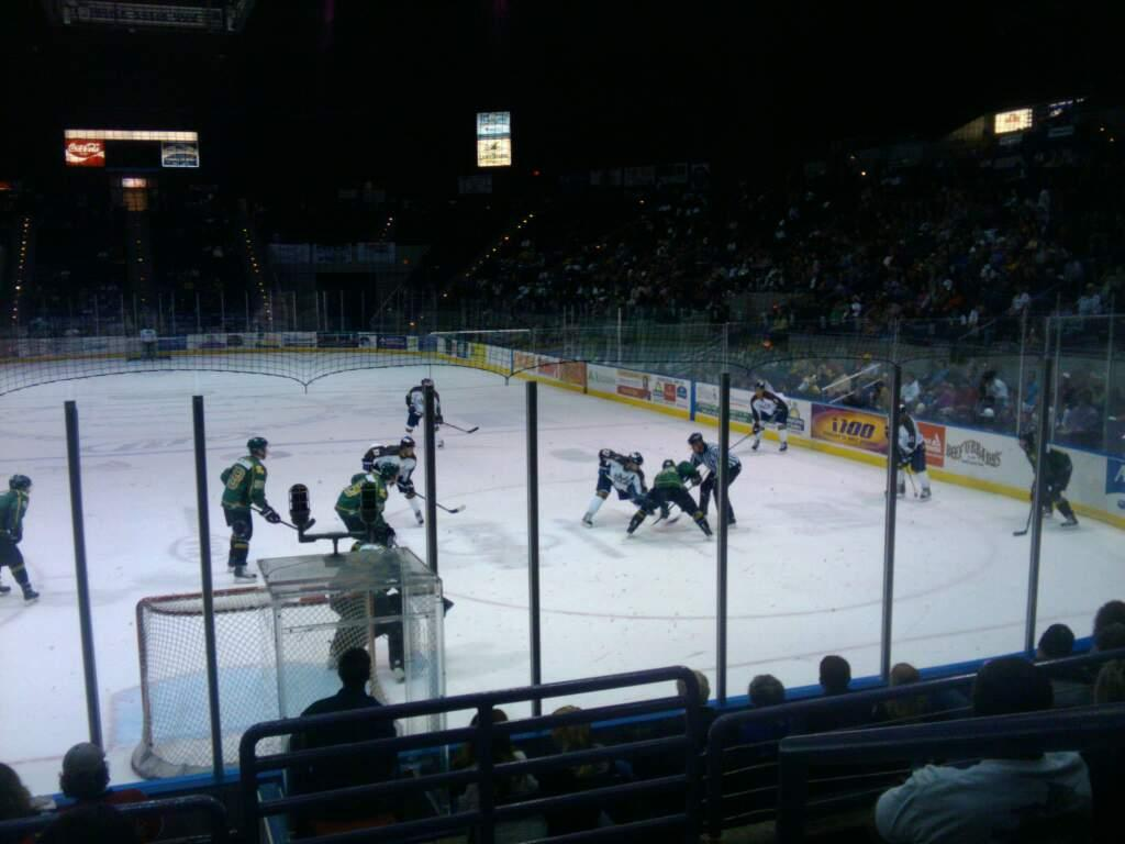 Pensacola Bay Center Section 109 Row G Seat 4
