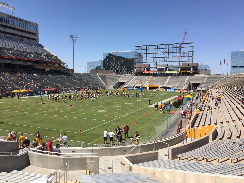Sun Devil Stadium Section 37 Row 25 Seat 10