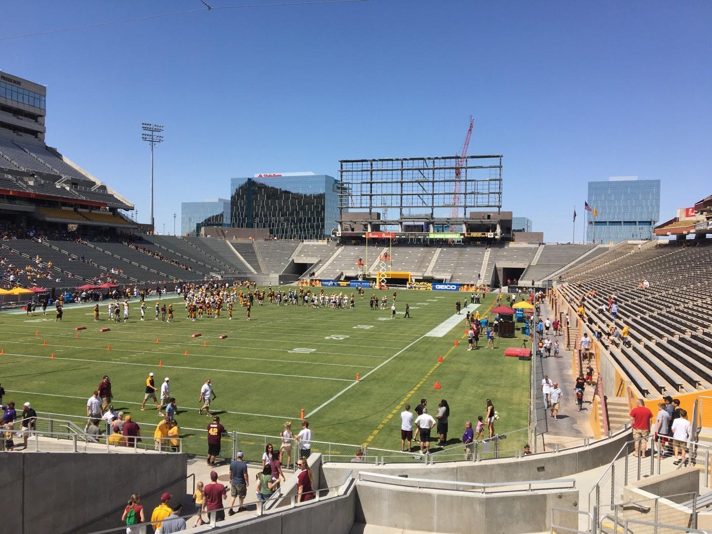 Sun Devil Stadium Section 38 Row 25 Seat 12