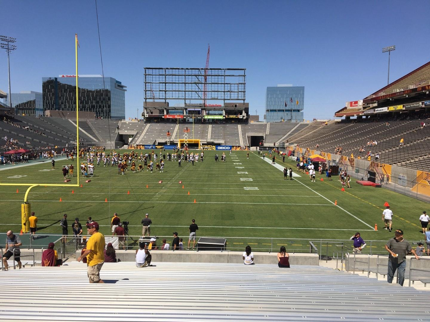 Sun Devil Stadium Section 40 Row 25 Seat 12
