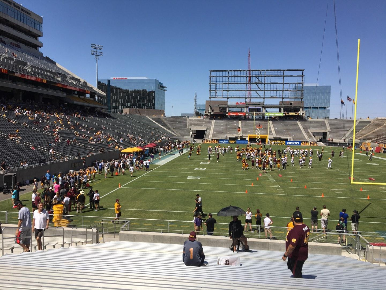 Sun Devil Stadium Section 42 Row 25 Seat 12