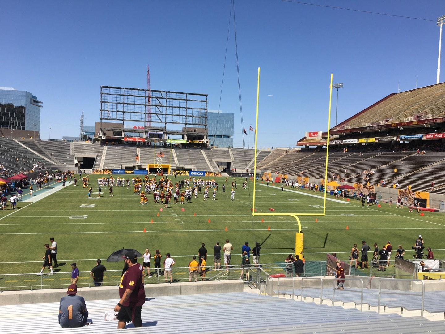 Sun Devil Stadium Section 42 Row 25 Seat 12