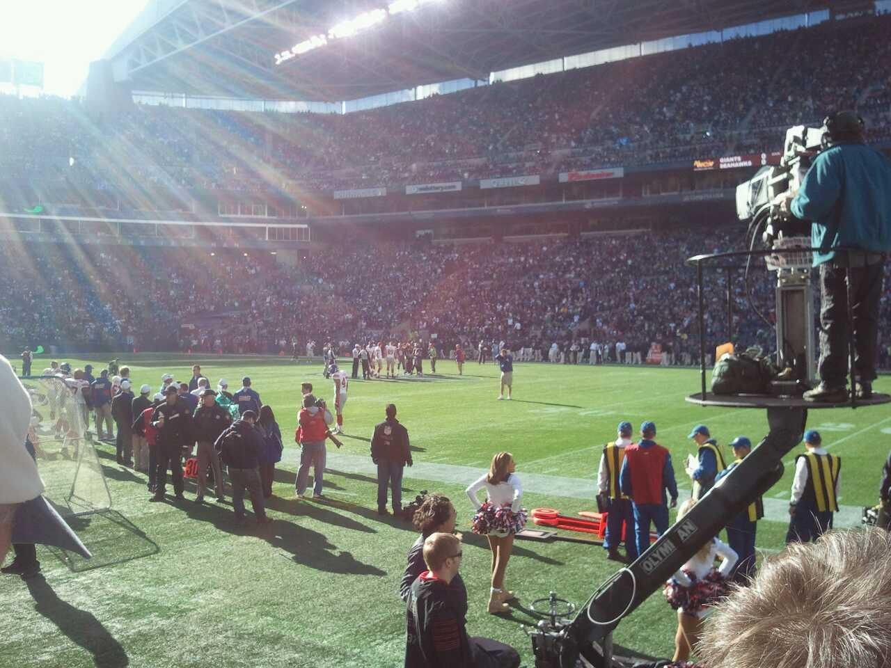 CenturyLink Field Section 113