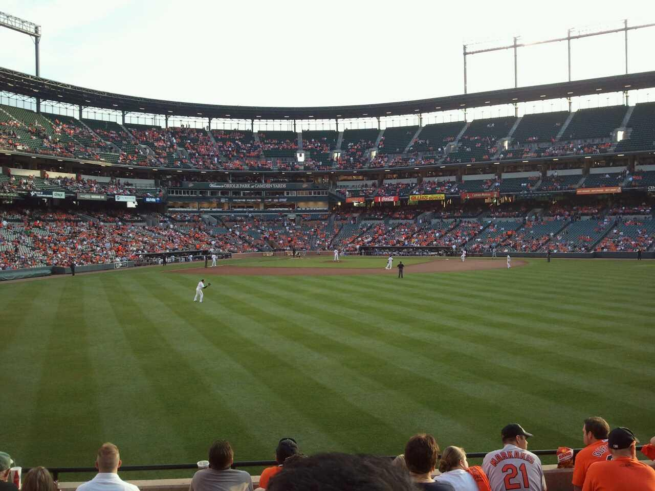 Oriole Park At Camden Yards Section 94 Row 8 Seat 17