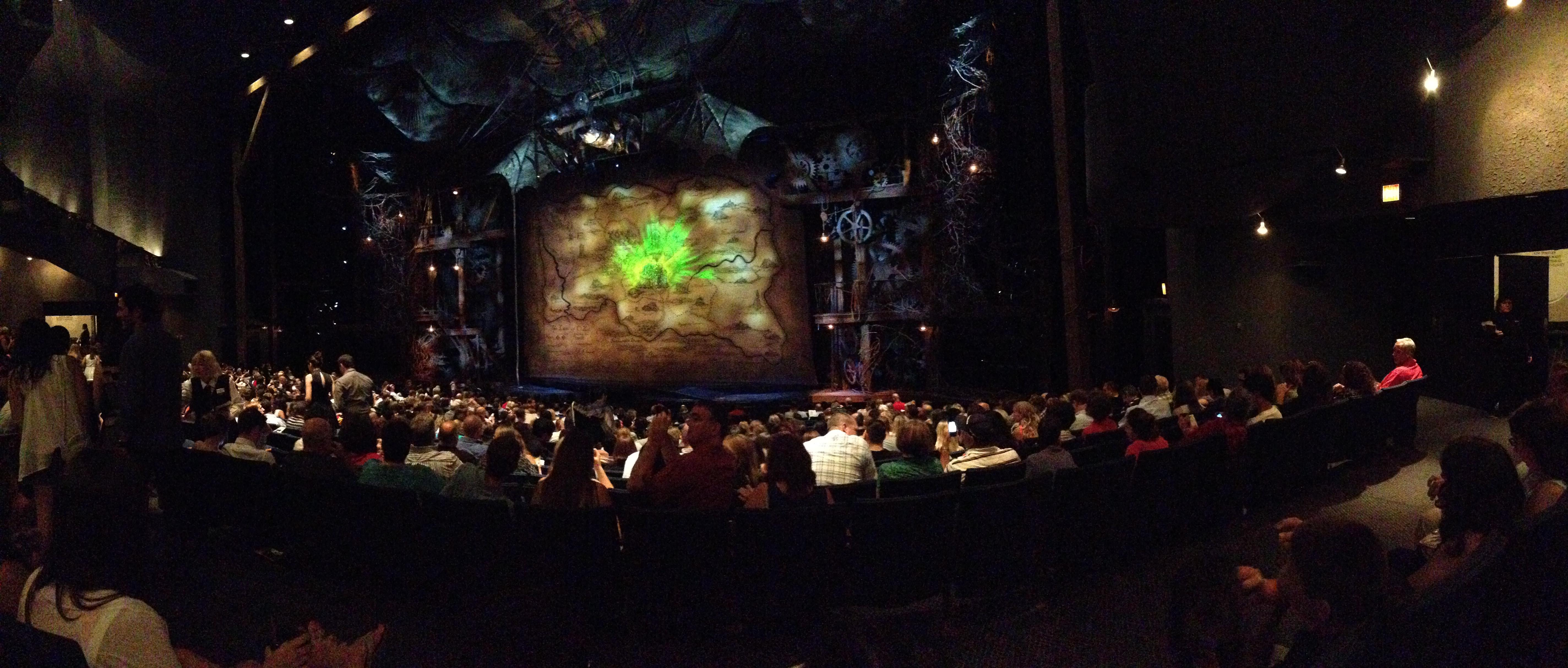Gershwin Theatre Section Orchestra R Row R Seat 20