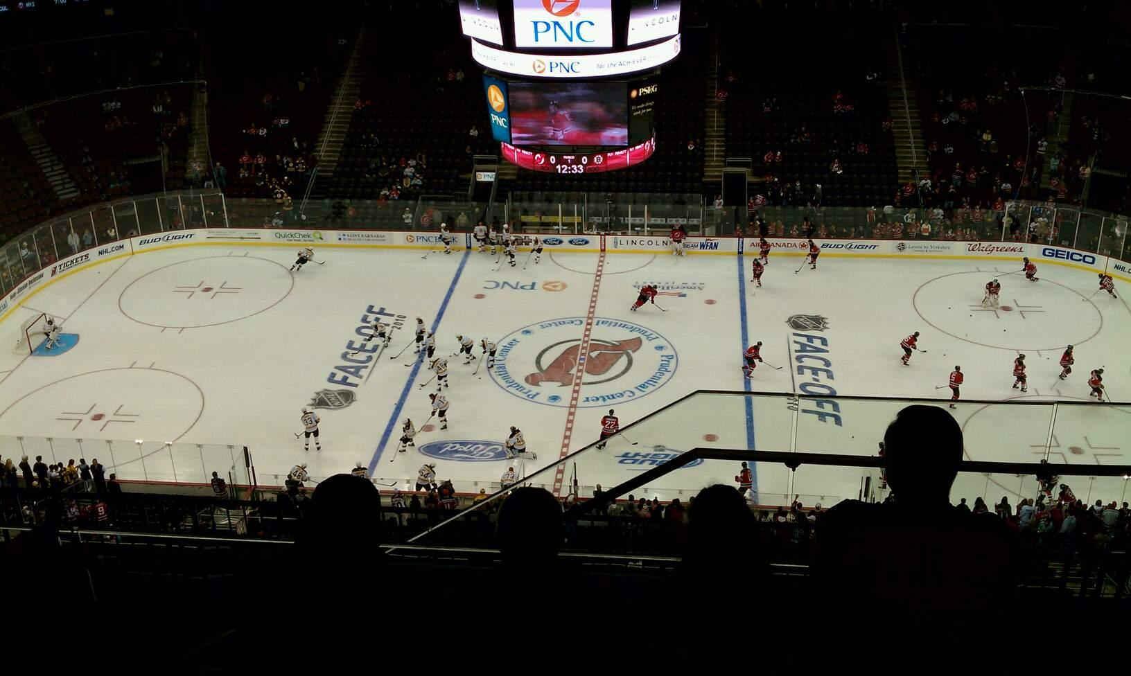 Prudential Center Section 212 Row 5 Seat 1