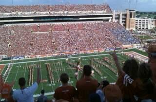 Texas Memorial Stadium Section 106 Row 13 Seat 30