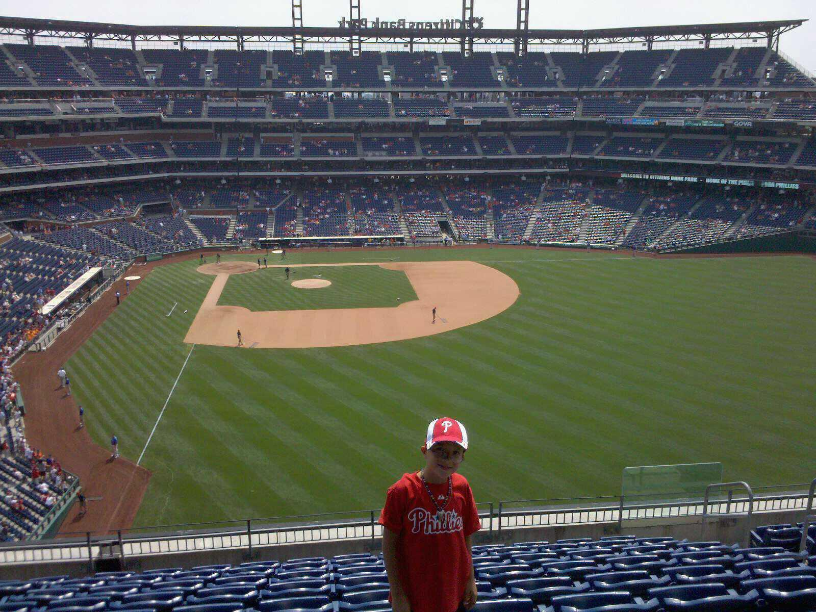 Citizens Bank Park Section 304 Row 10 Seat 9