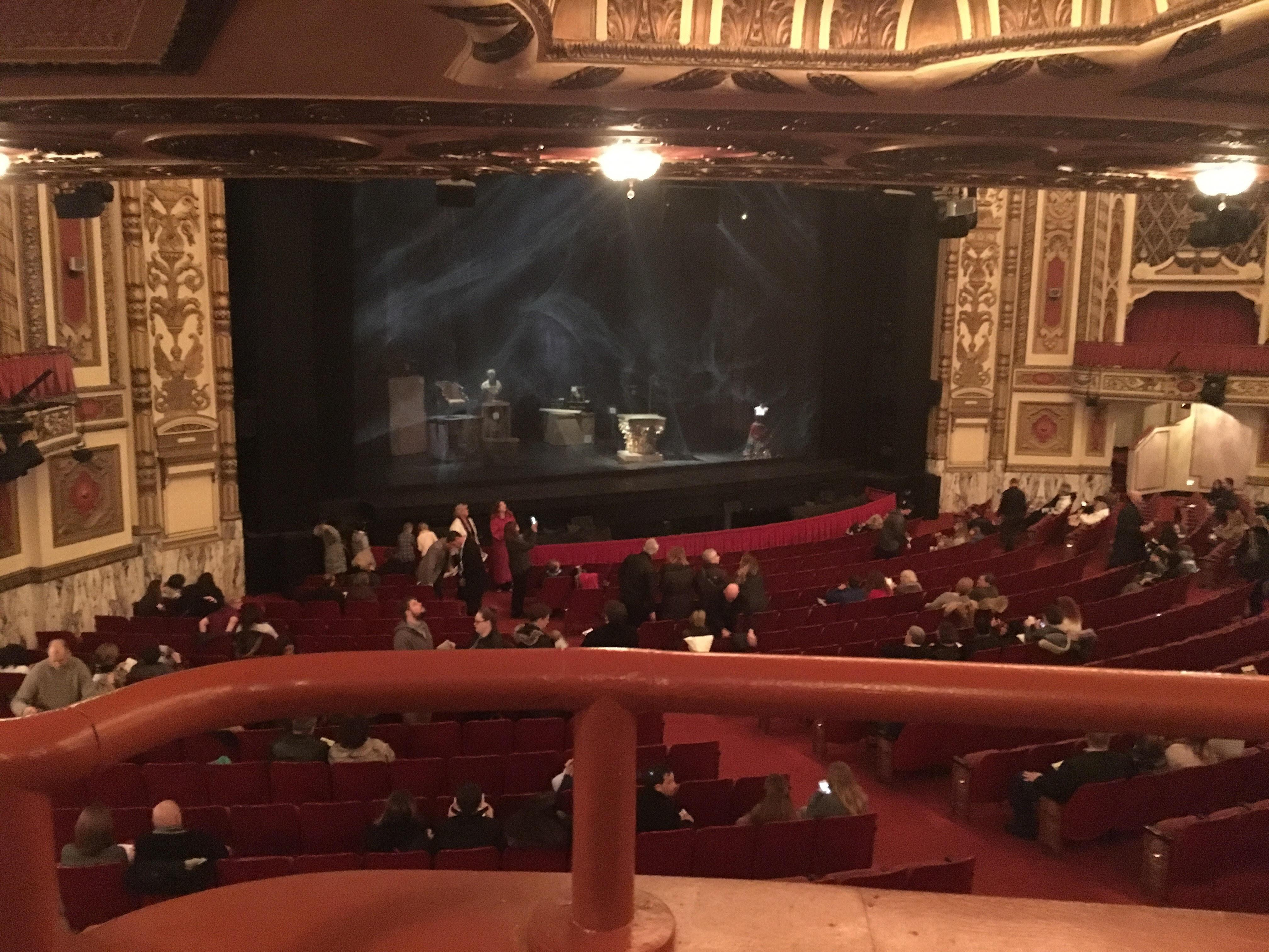 Cadillac Palace Theater Section Dress Circle L