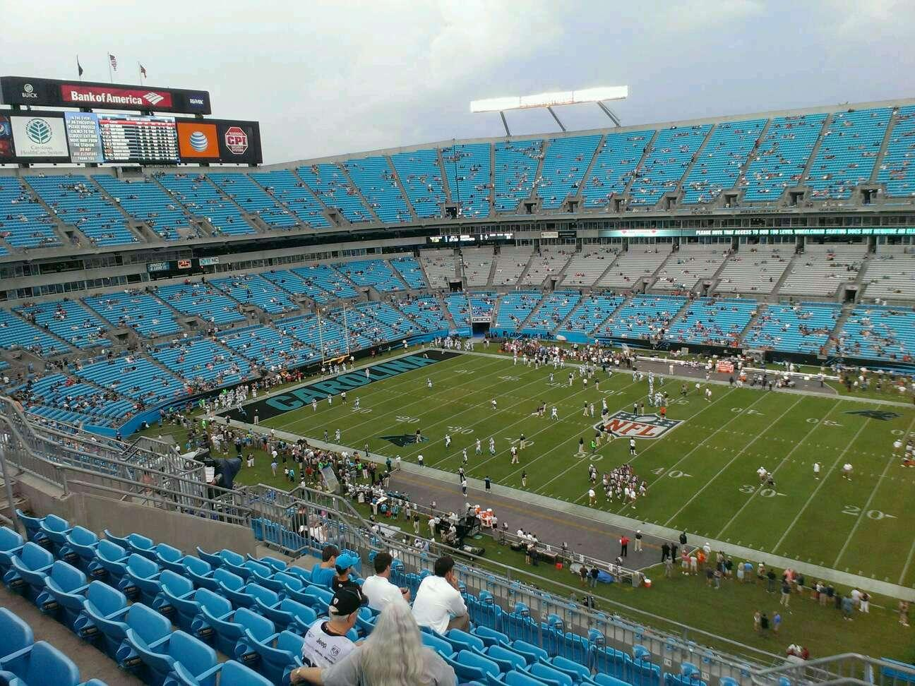 Seat View Bank Of America Stadium Transmission Shops In
