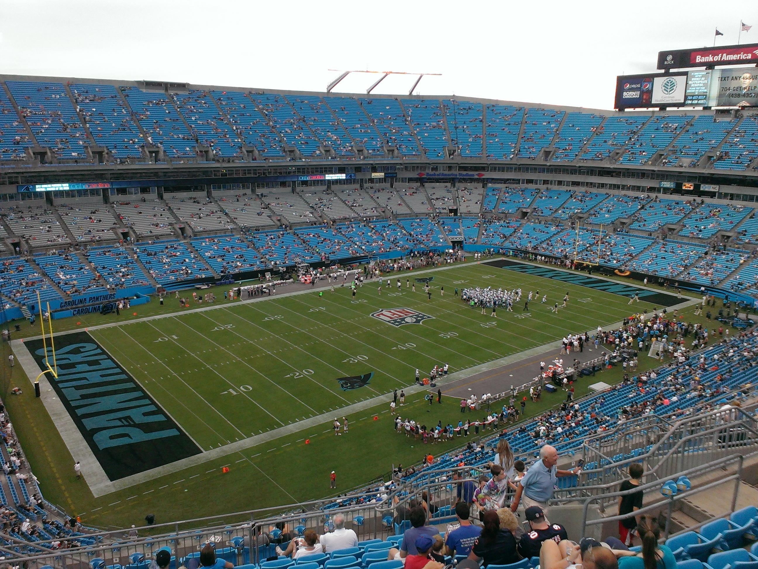 where is the bank of america stadium