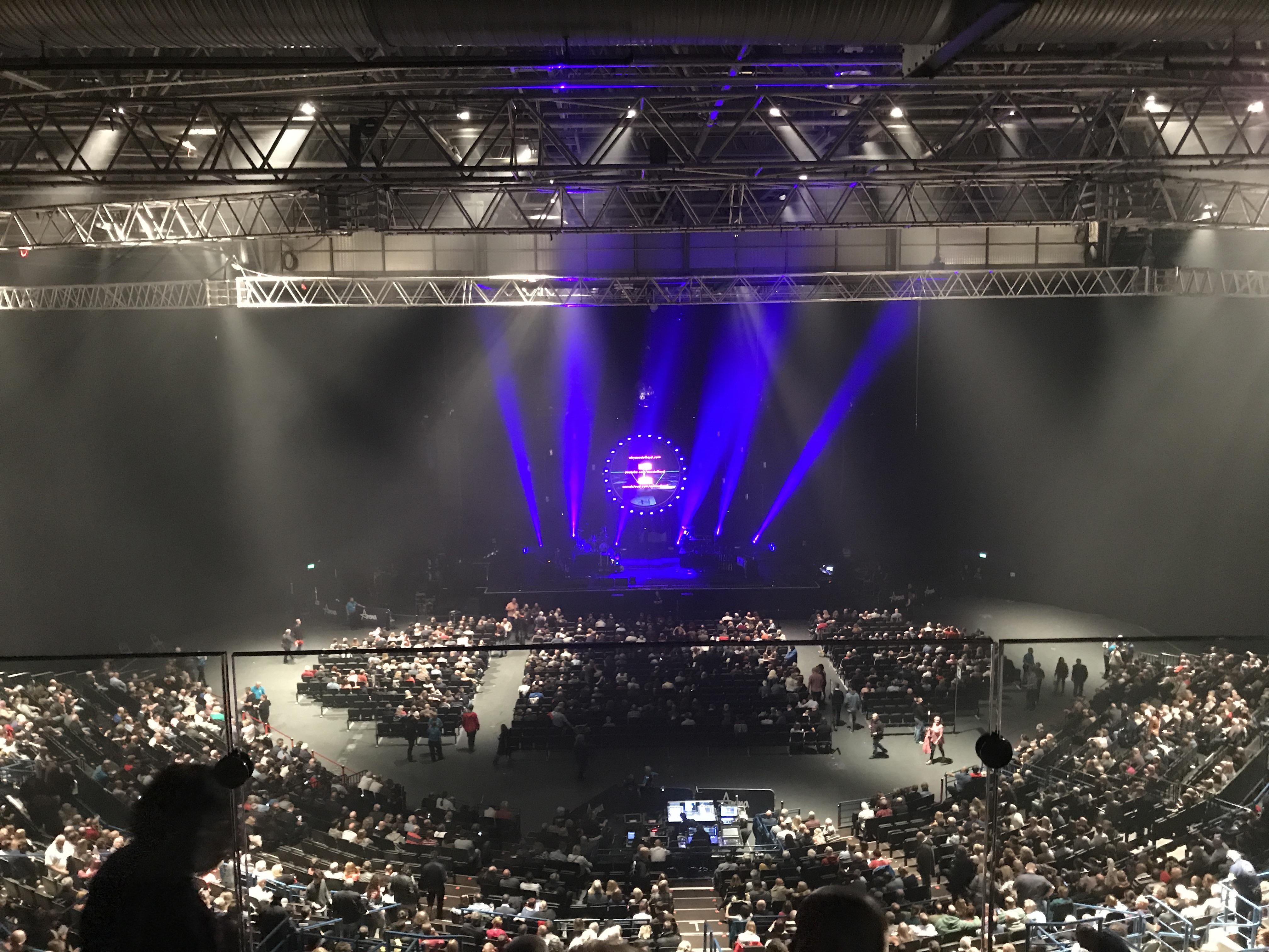 Arena Birmingham Section Show deck Row Stools Seat 8