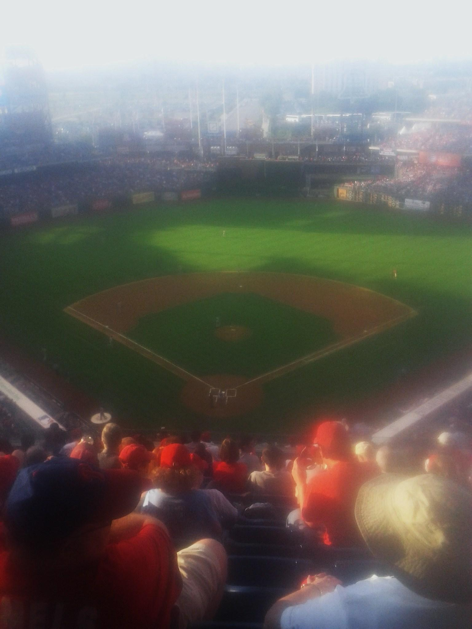 Citizens Bank Park Section 420 Row 14 Seat 12