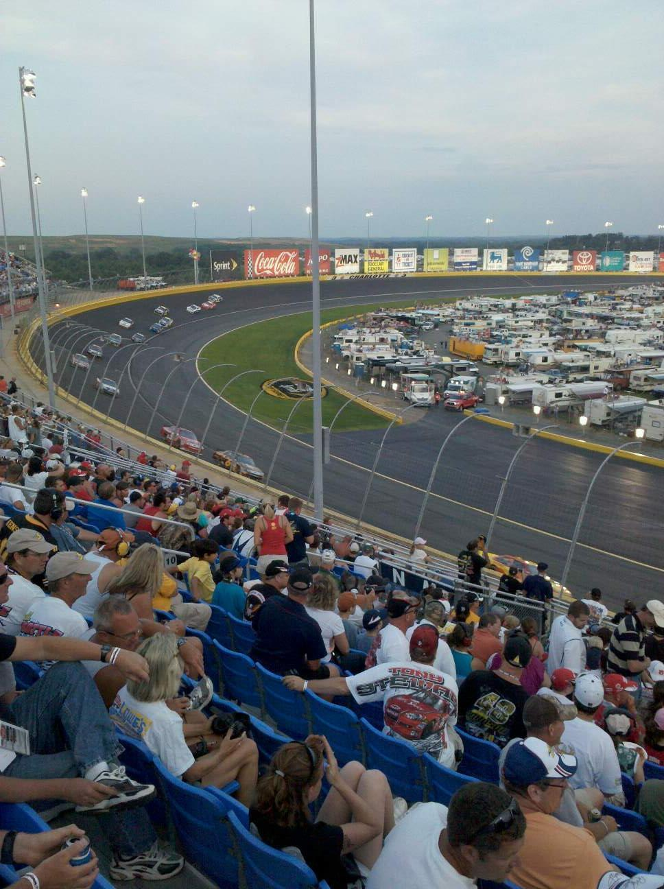 Charlotte Motor Speedway Section Toyota M Row 16