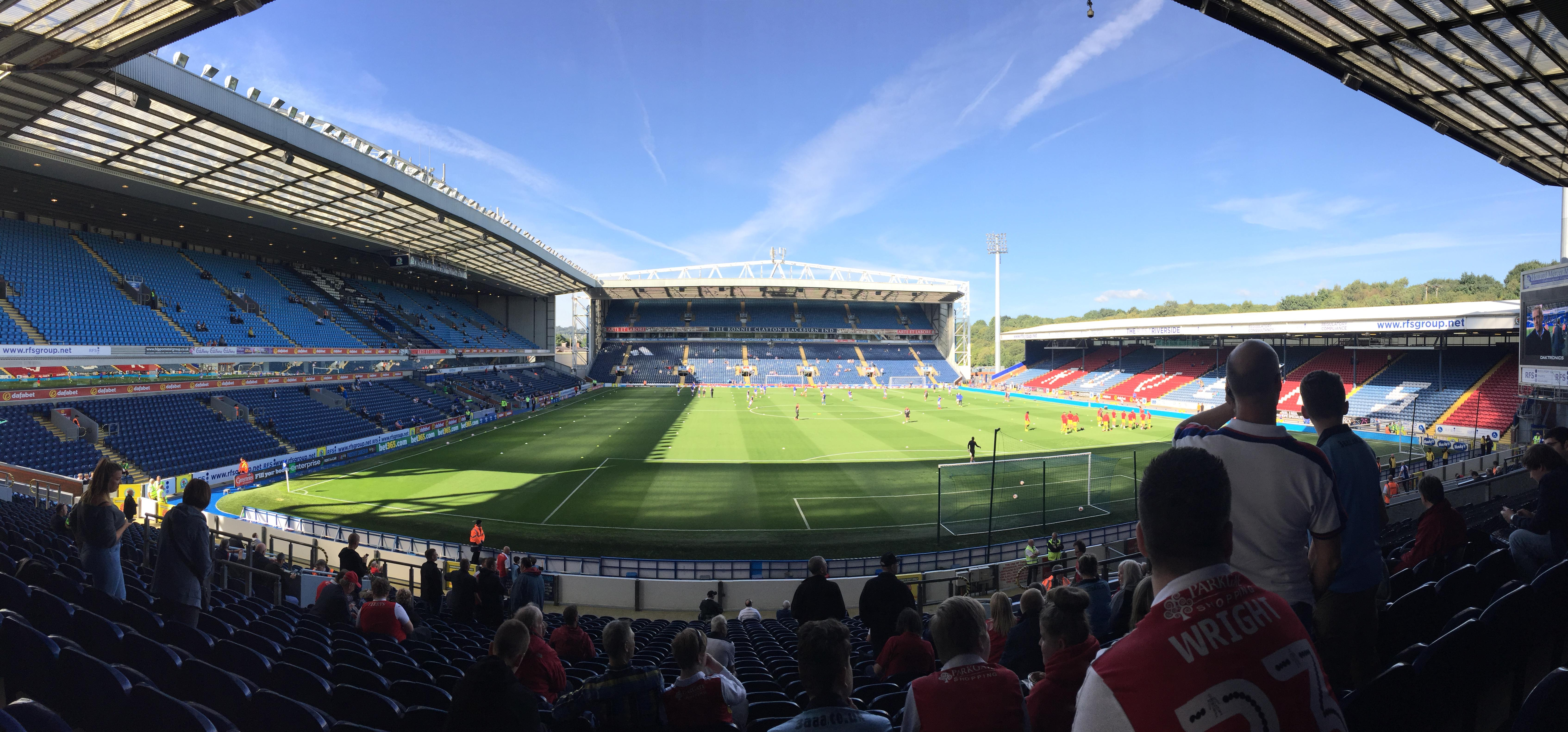 Ewood Park Section S03 Row 21 Seat 112