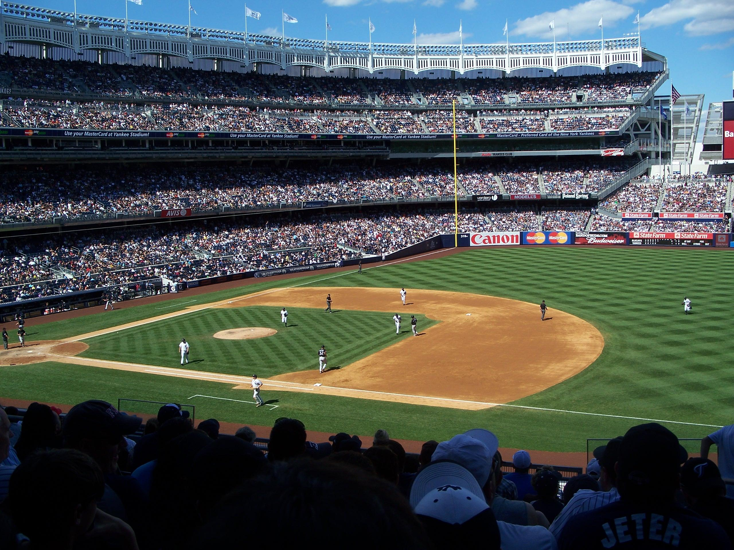 Yankee Stadium Section 214A Row 10 Seat 3