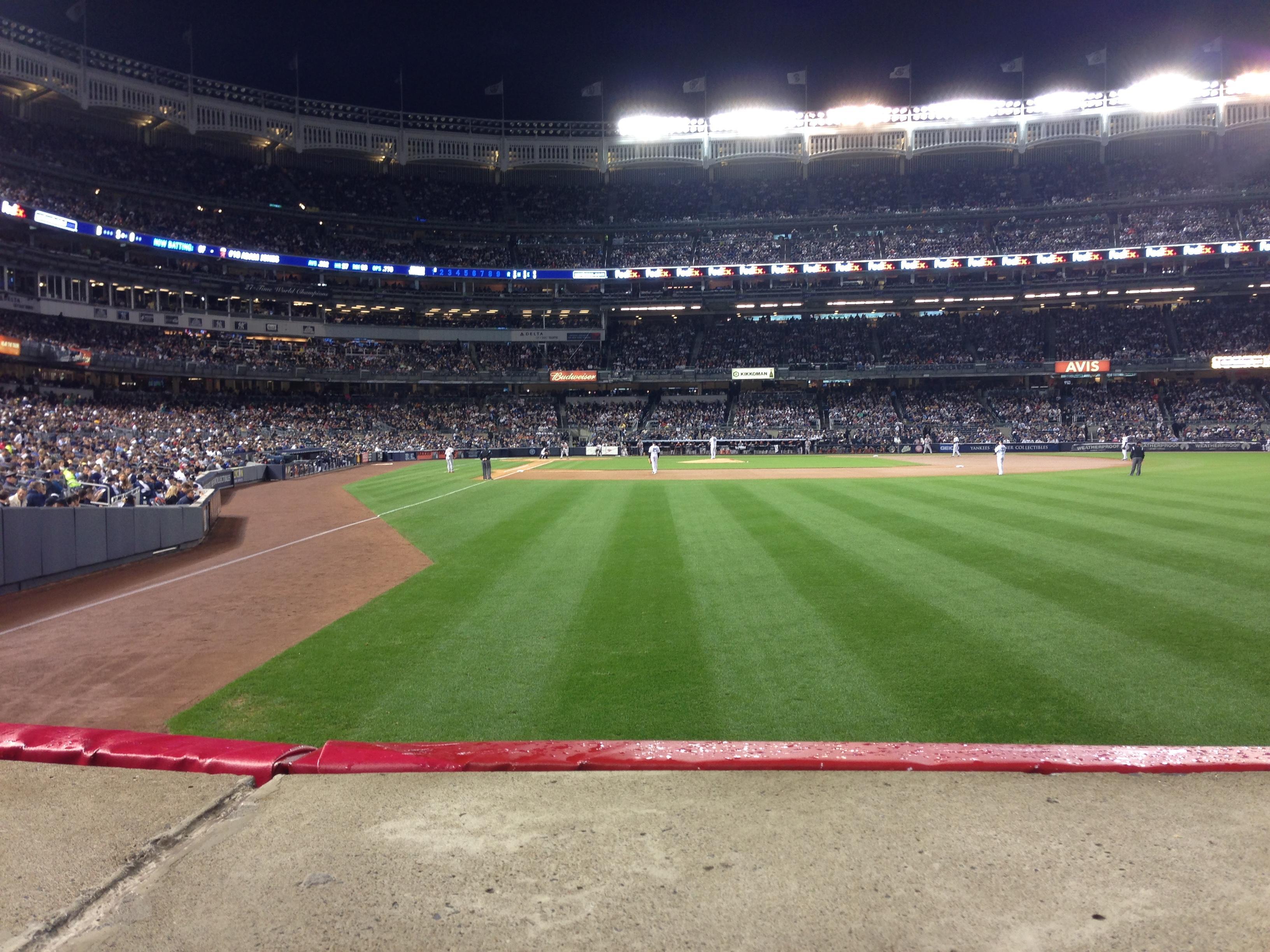 Yankee Stadium Section 106 Row 10 Seat 7