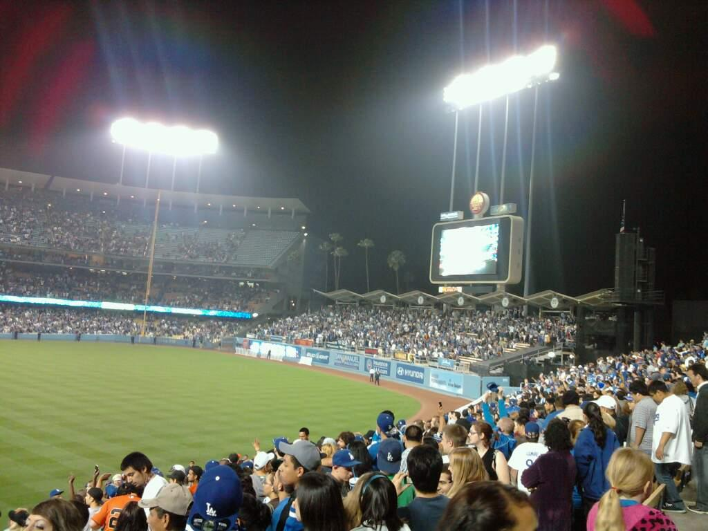 Dodger Stadium Section 304PL Row N Seat 2
