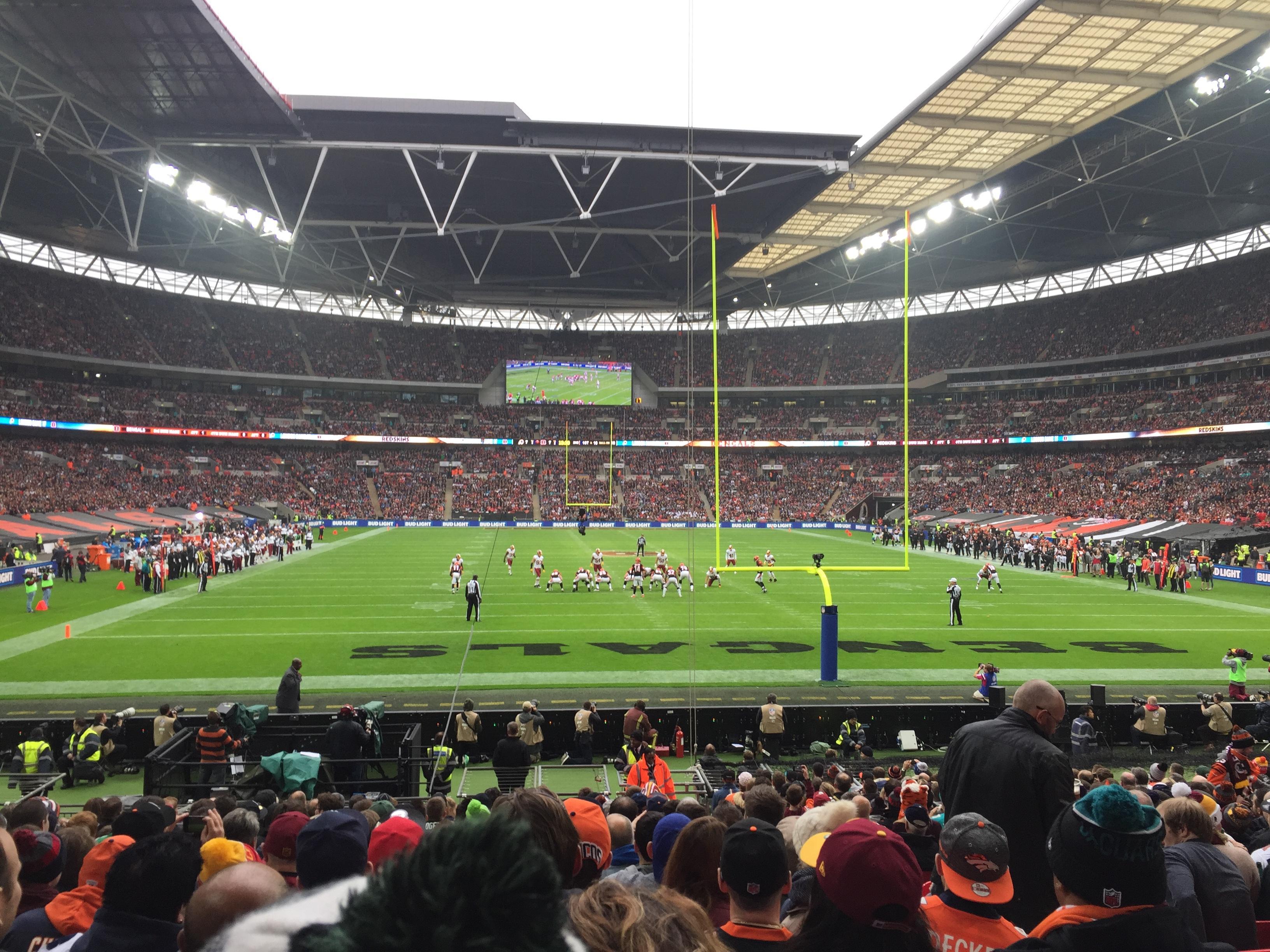 Wembley Stadium Section 112 Row 22 Seat 19