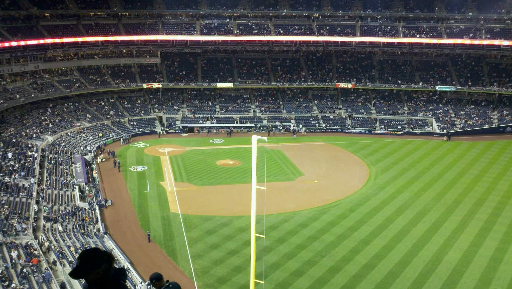 Yankee Stadium Section 407a Row 11 Seat 23