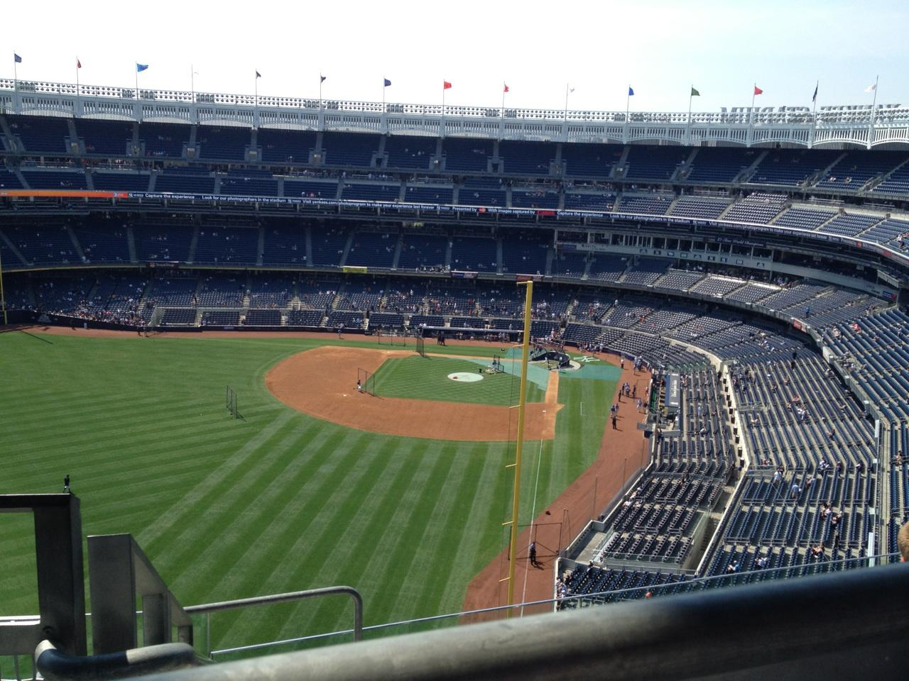 Yankee Stadium section 433 row 7 seat 20 - New York ...