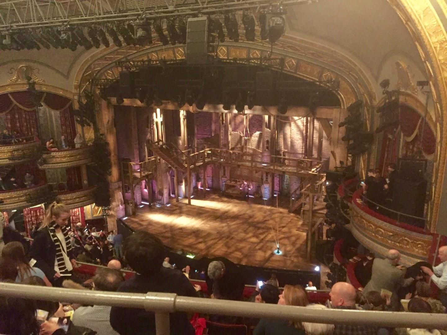 Richard Rodgers Theatre Section Rear Mezzanine Row A Seat 26 Hamilton Shared By Rickee1368