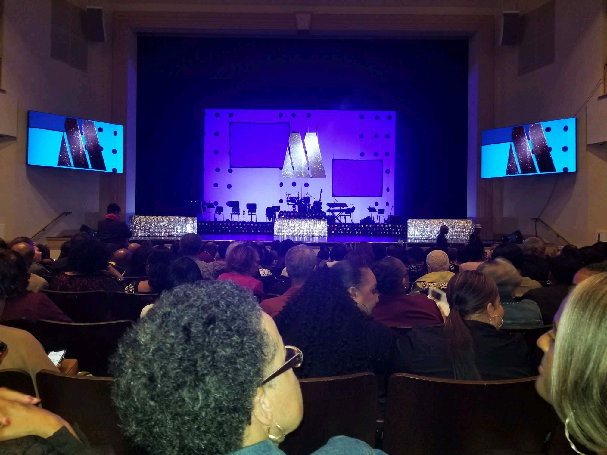 L. Douglas Wilder Performing Arts Center Section ORCHC Row N Seat 110