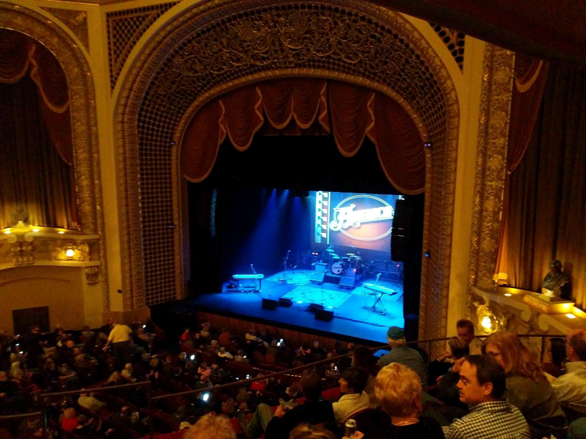 Pabst Theater Section 2RT Row E Seat 1